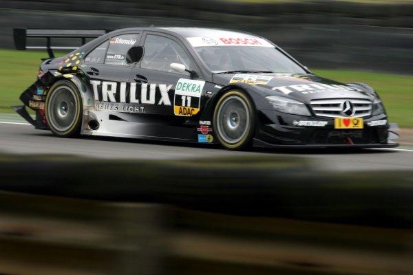 Ralf Schumacher (GER) TRILUX AMG Mercedes C-Class. DTM, Rd8, Brands Hatch, England, 30-31 August 2008.