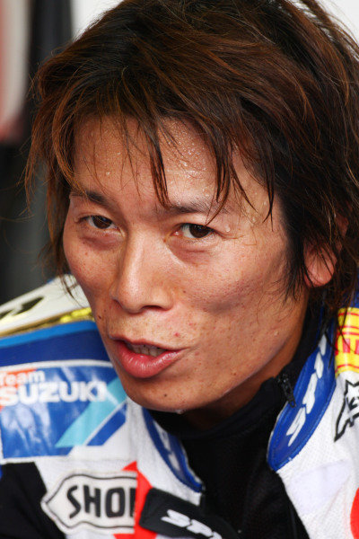2008 World Superbike Championship  Brands Hatch, England. 1st - 3rd August 2008.  Yukio Kagayama, Alstare Suzuki, portrait. World Copyright: Kevin Wood/LAT Photographic  ref: Digital Image