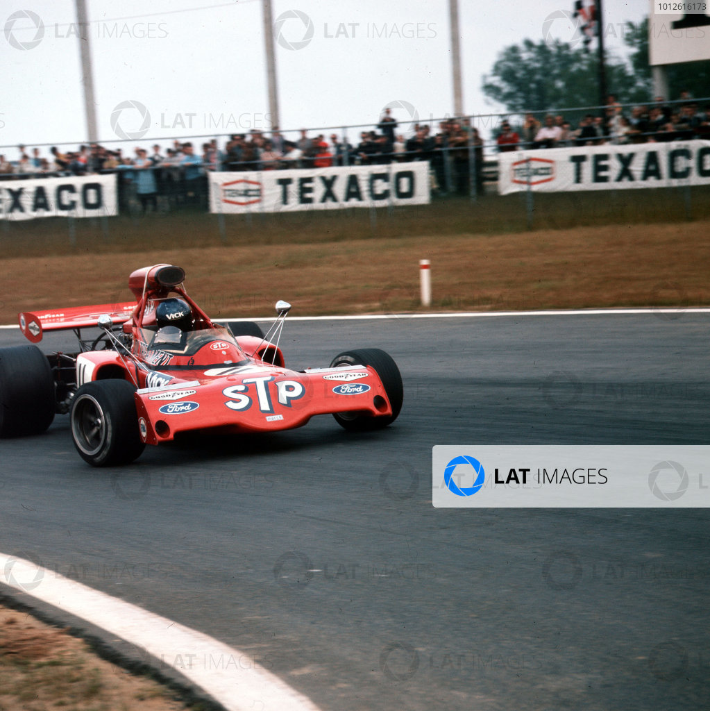 Nivelles-Baulers, Belgium.2-4 June 1972.Ronnie Peterson (March 721X Ford).Ref-3/5054F.World Copyright - LAT Photographic