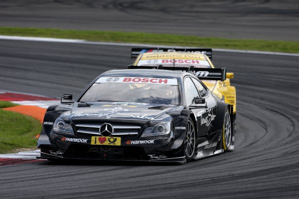 Round 6 - Moscow Raceway, Moscow, Russia  3rd - 4th August 2013  Robert Wickens (CAN) Mercedes AMG DTM-Team HWA DTM Mercedes AMG C-Coupé World Copyright: XPB Images / LAT Photographic  ref: Digital Image 2774716_HiRes
