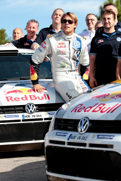 2013 FIA World Rally Championship Round 12 - Rally de Espana 24-27/10 2013. Andreas Mikkelsen, VW, portrait  Worldwide Copyright: McKlein/LAT