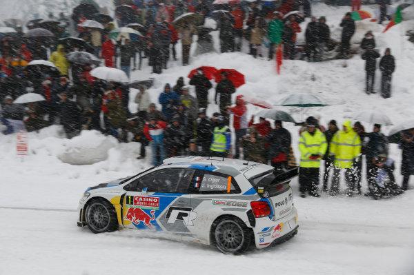 2014 World Rally Championship Monte Carlo Rally 13th - 19th January 2014 Sebastien Ogier, VW, action Worldwide Copyright: McKlein/LAT