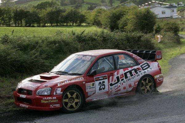 2006 British Rally ChampionshipUlster Rally, Armagh.2nd September 2006Garry JenningsWorld Copyright - Ebrey/LAT Photographic
