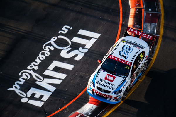 2017 Supercars Championship Round 12.  Gold Coast 600, Surfers Paradise, Queensland, Australia. Friday 20th October to Sunday 22nd October 2017. James Moffat, Garry Rogers Motorsport.  World Copyright: Daniel Kalisz/LAT Images Ref: Digital Image 201017_VASCR12_DKIMG_1488.jpg