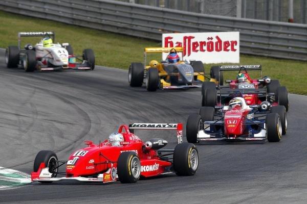 Robert Doornbos (NED) Team Ghinzani Dallara Mugen Honda.F3 Euro Series, Rd13 & Rd14, A1-Ring, Austria, 6 September 2003.DIGITAL IMAGE
