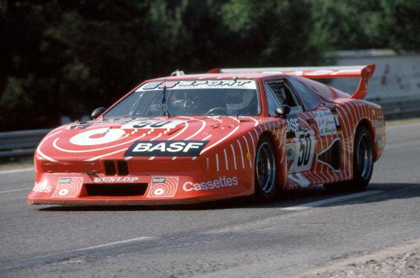 1981 Le Mans 24 HoursLe Mans, France. 13th - 14th June.Hans-Joachim Stuck/Jean-Pierre Jarier/Helmut Henzler (BMW M1), retired.World Copyright: Murenbeeld/LAT Photographic.