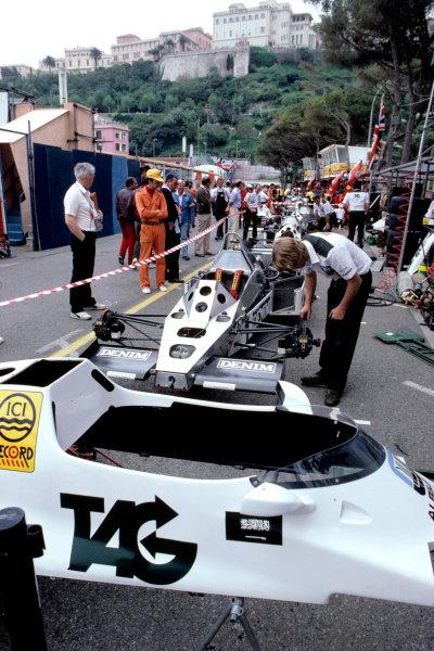 1983 Monaco Grand Prix.Monte Carlo, Monaco. 15 May 1983.Williams FW08C-Ford Cosworth.World Copyright: LAT Photographic