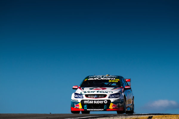 2017 Supercars Championship Round 4.  Perth SuperSprint, Barbagallo Raceway, Western Australia, Australia. Friday May 5th to Sunday May 7th 2017. Craig Lowndes drives the #888 TeamVortex Holden Commodore VF. World Copyright: Daniel Kalisz/LAT Images Ref: Digital Image 050517_VASCR4_DKIMG_1376.JPG