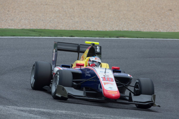 2017 GP3 Series Testing Estoril, Portugal. Thursday 23 March 2017 Giuliano Alesi (FRA, Trident). Action.  Photo: Alastair Staley/GP3 Series Media Service ref: Digital Image 580A4116