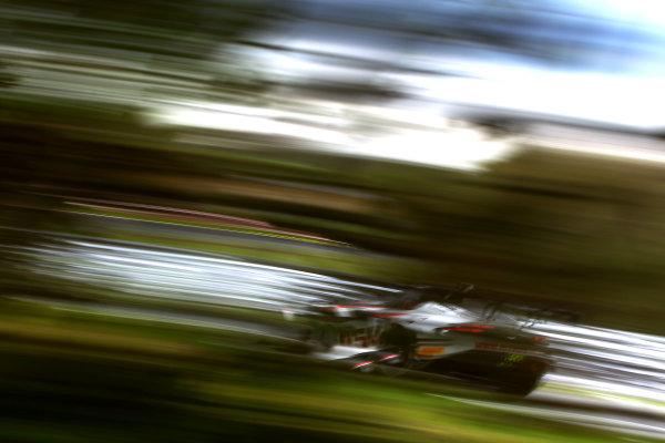 2017 British GT Championship, Oulton Park, Cheshire. 15th - 17th April 2017. Derek Johnston / Jonny Adam TF Sport Aston Martin Vantage GT3. World Copyright: JEP/ LAT Images.