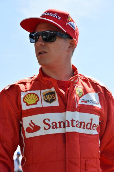 Kimi Raikkonen (FIN) Ferrari. Formula One World Championship, Rd1, Australian Grand Prix, Preparations, Albert Park, Melbourne, Australia, Thursday 13 March 2014.