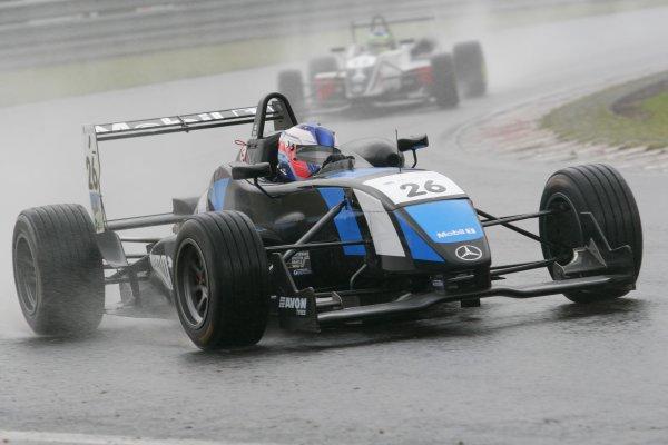 2007 British Formula Three Championship. Spa, Belgium. 26th - 28th July 2007.Atte Mustonen (Raikkonen Robertson Racing).Action.World Copyright: Drew Gibson/LAT Photographic.Ref: Digital Image Only.