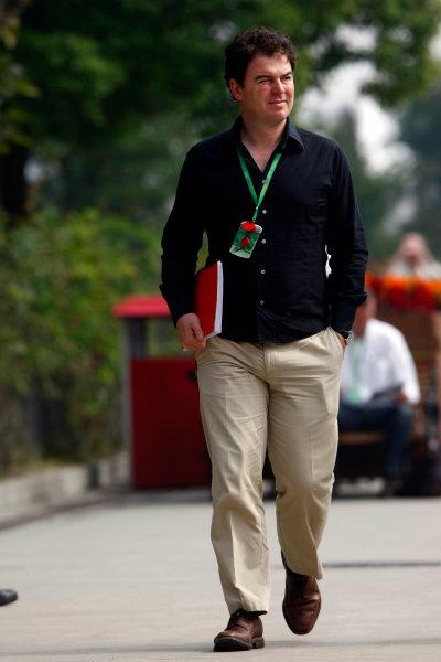 Shanghai International Circuit, Shanghai, China19th October 2008James Allen, ITV F1. Portrait. World Copyright: Charles Coates/LAT Photographicref: Digital Image _26Y1324