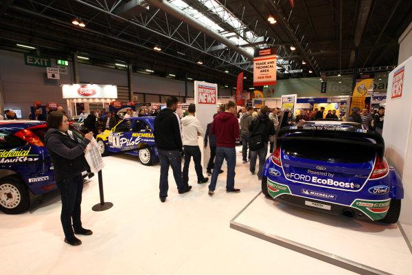 NEC, Birmingham. 15th January 2012.The Motorsport News display.World Copyright:Daniel Kalisz/LAT Photographicref: Digital Image IMG_2518