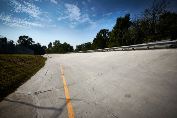 Autodromo Nazionale di Monza, Italy  Thursday 1 September 2016. The old banking at Monza. World Copyright: Steve Etherington/LAT Photographic ref: Digital Image SNE15020