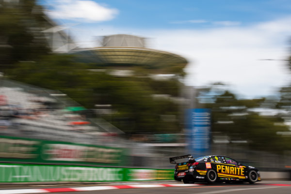 2016 Supercars Championship Round 14.  Sydney 500, Homebush Street Circuit, New South Wales, Australia. Friday 2nd December to Sunday 4th December 2016. David Reynolds drives the #9 Erebus Motorsport Penrith Racing Holden Commodore VF. World Copyright: Daniel Kalisz/LAT Photographic Ref: Digital Image 021216_VASCR14_DKIMG_1629.JPG