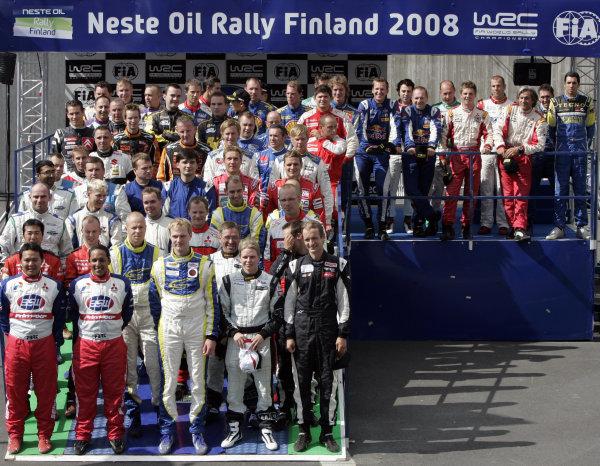 Round 09Neste Oli Rally Finland 200831/7-3/8  2008PWRC, JWRC drivers