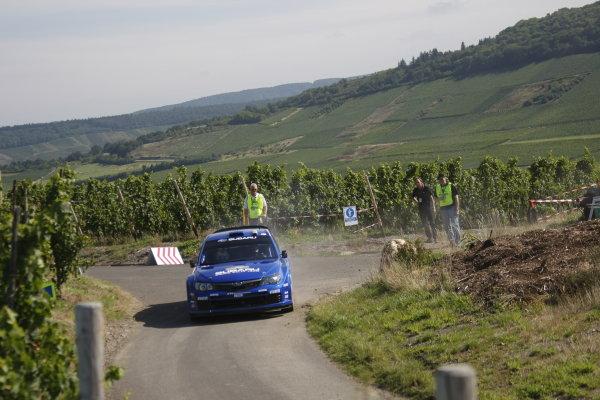 Round 10Rally Deutschland 200814th-17th August 2008Petter Solberg, Subaru, actionWorldwide Copyright: McKlein/LAT
