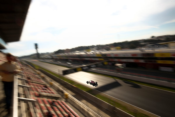 Circuit de Catalunya, Barcelona, Spain. Friday 09 March 2018. Esteban Ocon, Force India VJM11 Mercedes. World Copyright: Joe Portlock/LAT Images ref: Digital Image _L5R0998