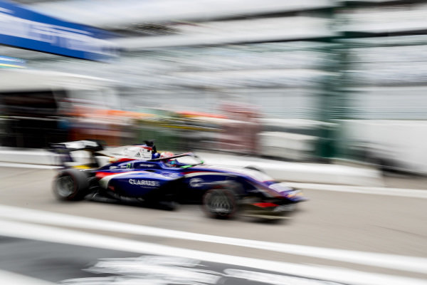 SOCHI AUTODROM, RUSSIAN FEDERATION - SEPTEMBER 27: Devlin DeFrancesco (CAN, Trident) during the Sochi at Sochi Autodrom on September 27, 2019 in Sochi Autodrom, Russian Federation. (Photo by Carl Bingham / LAT Images / FIA F3 Championship)