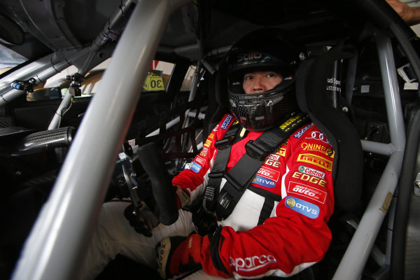 Andrew Haryanto (IDN) ProMax Team at Audi R8 LMS Cup, Rd1 and Rd2, Adelaide, Australia, 2-4 March 2018.