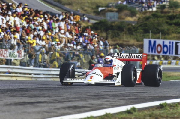 Alain Prost, McLaren MP4-3 TAG.