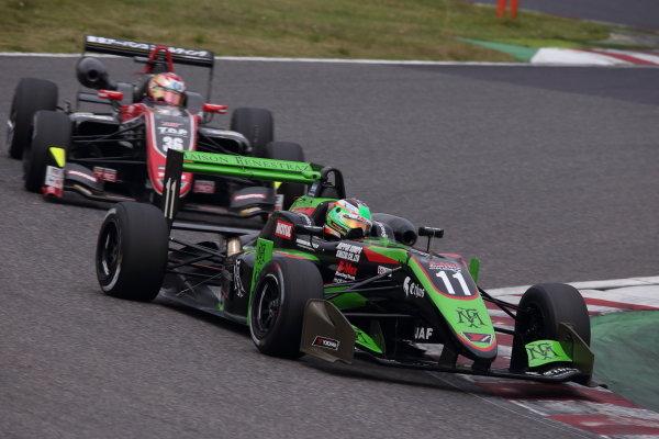 Winner Sacha Fenestraz, B-Max Racing with Motopark F3, Dallara F314 Spies A41. Photo by Masahide Kamio
