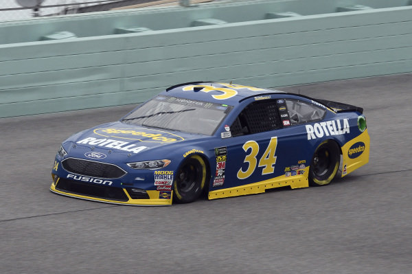 #34: Michael McDowell, Front Row Motorsports, Ford Fusion Speedco/Rotella