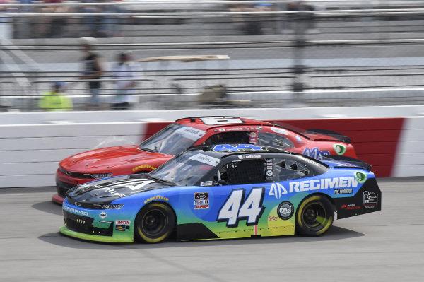 #44: Tommy Joe Martins, Martins Motorsports, Chevrolet Camaro Alpha Prime, #6: Ryan Vargas, JD Motorsports, Chevrolet Camaro TeamJDMotorsports.com