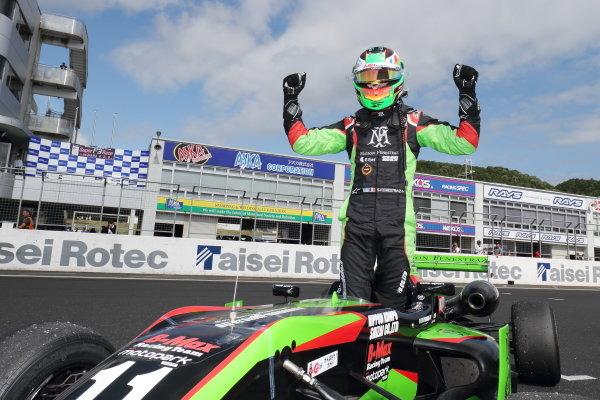 Round 6. Winner Sacha Fenestraz, B-Max Racing with Motopark Dallara F314 Volkswagen. Photo by Masahide Kamio