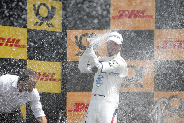 Podium: Philipp Eng, BMW Team RBM.