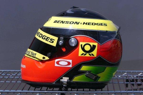 Ricardo Zonta (BRA) Jordan Honda EJ11 German Grand Prix Practice, Hockenheim 27 July 2001 DIGITAL IMAGE