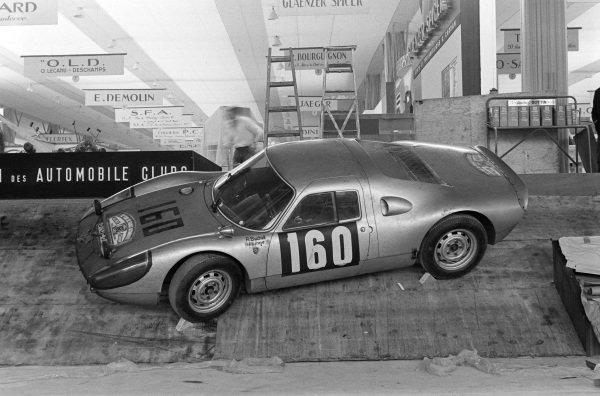 Porsche 904 (Eugen Böhringer Monte Carlo Rally).