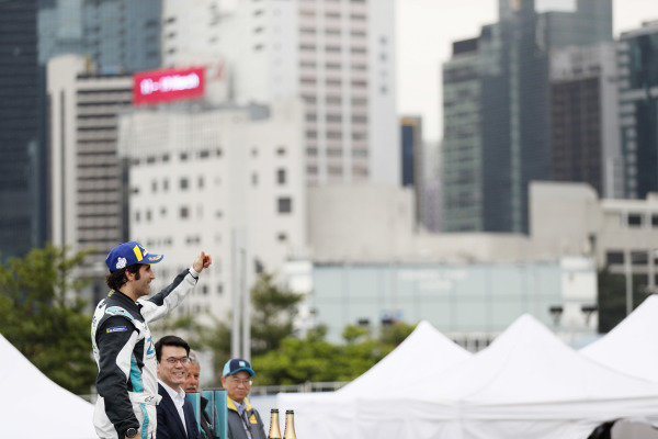 Sérgio Jimenez (BRA), Jaguar Brazil Racing celebrates 3rd position on the podium in the PRO class