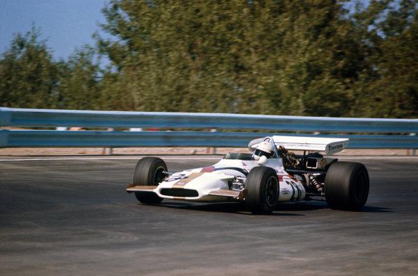 Watkins Glen, New York, USA.1-3 October 1971.John Cannon, B.R M. P153, 14th position, action. World Copyright: LAT Photographic.Ref:  71USA70.