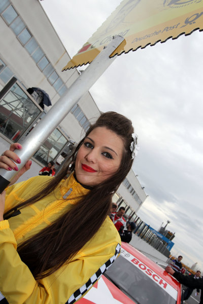 DTM grid girl.DTM, Rd10, Adria International Raceway, Italy. 29-31 October 2010 World Copyright: LAT Photographicref: dne1031oc150