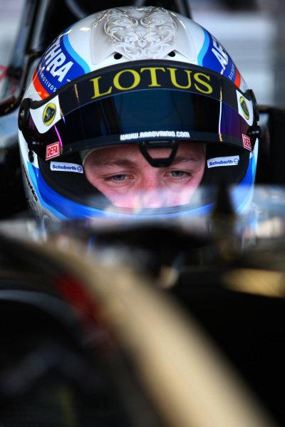 Aaro Vainio (FIN), Lotus GP. GP3 Series Testing, Silverstone, England, 12 April 2012.