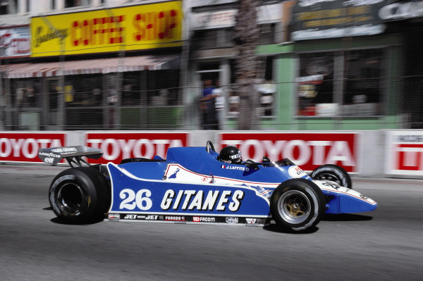 Jacques Laffite, Ligier JS11/15 Ford.