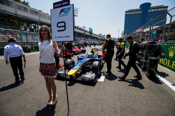 2017 FIA Formula 2 Round 4. Baku City Circuit, Baku, Azerbaijan. Sunday 25 June 2017. Oliver Rowland (GBR, DAMS)  Photo: Zak Mauger/FIA Formula 2. ref: Digital Image _54I3057