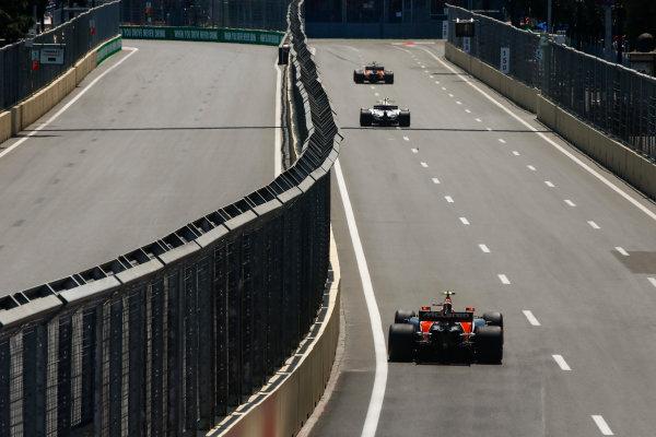 Baku City Circuit, Baku, Azerbaijan. Friday 23 June 2017. Stoffel Vandoorne, McLaren MCL32 Honda.  World Copyright: Andrew Hone/LAT Images ref: Digital Image _ONY8478