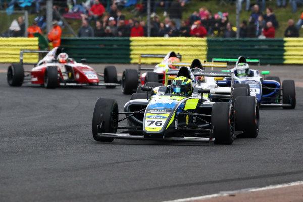 2017 British F4 Championship Croft, North Yorkshire. 10th-11th June 2017, Linus Lundqvist (SWE) Double R Racing British F4 World copyright. JEP/LAT Images