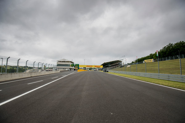 2017 GP3 Series Round 4.  Hungaroring, Budapest, Hungary. Thursday 27 July 2017. A view of the circuit. Photo: Zak Mauger/GP3 Series Media Service. ref: Digital Image _56I0068