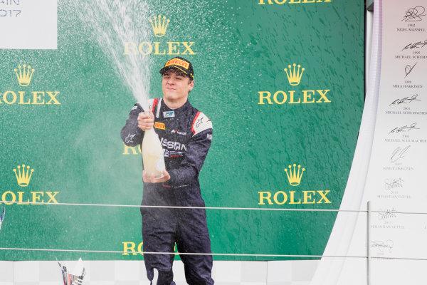 2017 FIA Formula 2 Round 6. Silverstone, Northamptonshire, UK. Sunday 16 July 2017. Artem Markelov (RUS, RUSSIAN TIME).  Photo: Zak Mauger/FIA Formula 2. ref: Digital Image _56I0802