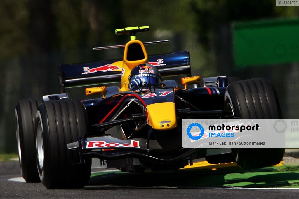 Christian Klien (AUT) Red Bull Racing RB1.