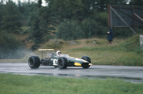1968 International Gold Cup.  Oulton Park, England. 17th August 1968.  Jack Brabham, Brabham BT26 Repco.  Ref: 68GC25. World Copyright: LAT Photographic