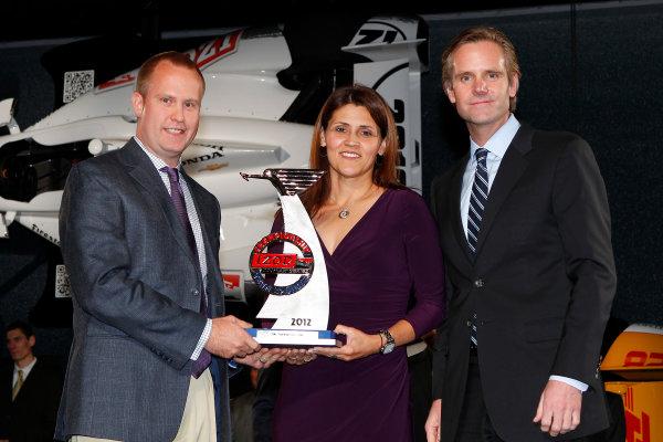 6 December, 2012, Indianapolis, Indiana USA Champion sponsor award.(c)2012, Russell LaBounty LAT Photo USA .