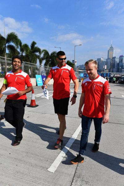 2017/2018 FIA Formula E Championship. Riound 1 - Hong Kong, China. Thursday 21 July 2016.Felix Rosenqvist (SWE), Mahindra Racing, Mahindra M4Electro Photo: Mark Sutton/LAT/Formula E ref: Digital Image DSC_0047