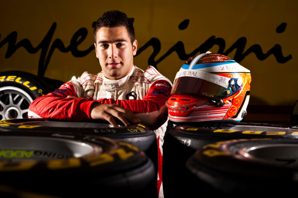 Round 5.Hockenheim, Germany. 22nd July 2010. Thursday Preview. Daniel Morad, (CAN, Status Grand Prix) winner of race 8 in the GP3 series at Silverstone. Portrait. World Copyright: Drew Gibson/LAT PhotographicDigital Image _Y8P1950
