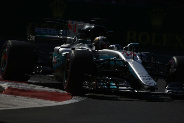 Circuit of the Americas, Austin, Texas, United States of America. Friday 27 October 2017. Lewis Hamilton, Mercedes F1 W08 EQ Power+.  World Copyright: Andy Hone/LAT Images  ref: Digital Image _ONZ0211