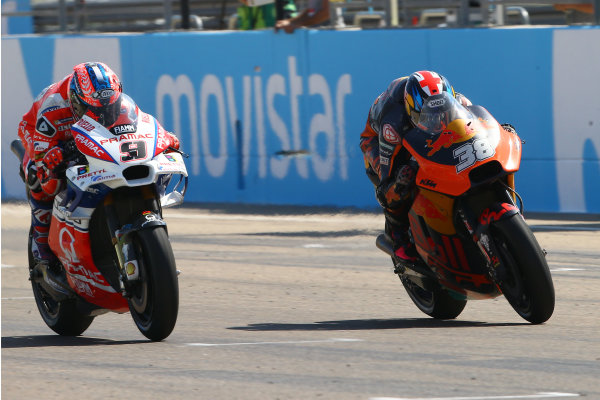 2017 MotoGP Championship - Round 14 Aragon, Spain. Sunday 24 September 2017 Petucci, Bradley Smith, Red Bull KTM Factory Racing World Copyright: Gold and Goose / LAT Images ref: Digital Image 695031